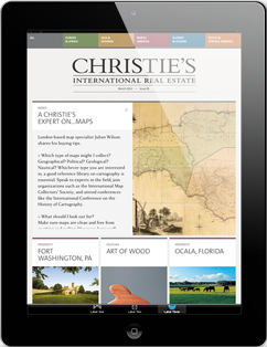 Christie's iPad Magazine