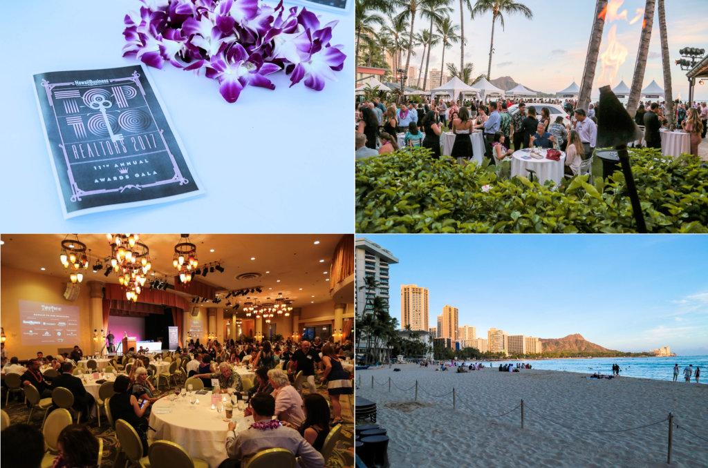 2017 Top 100 Realtors reception_Hawaii Business Mag